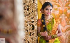 The Beautiful Wedding of Subashri and Mukund! Wedding Couple Pictures, Wedding Couples, South Indian Bride, Indian Bridal, Bridal Boxes, And So The Adventure Begins, Bridal Jewellery, Her Smile, Bridal Makeup