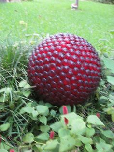 Bowling Ball Garden Art | Bowling ball garden art | Projects I want to do