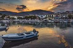 Galaxidi by Zisimos Zizos on Beautiful Sunset, Greece, Country, Sunsets, Greece Country, Rural Area, Country Music, Rustic, Sunrises