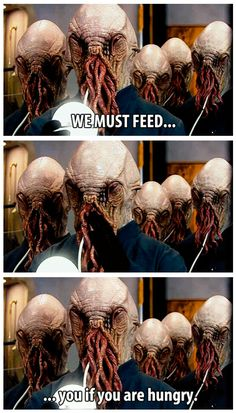 """""""We must feed"""" it's funny to look back and remember how scared i was at this scene before i was laughing"""