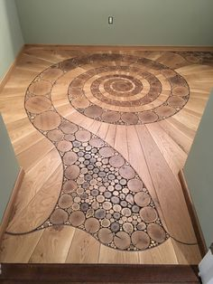 This is a pretty pattern for a shower done in tile - Holzprojekte Floor Design, House Design, Woodworking Plans, Woodworking Projects, Woodworking Inspiration, Woodworking Patterns, Earthship, Pretty Patterns, Tile Patterns