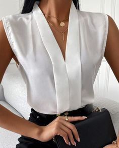 Trend Fashion, Women's Fashion, Professional Outfits, Classy Outfits, Classy Casual, Casual Work Outfits, Pretty Outfits, Cute Outfits, Mode Style
