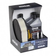 Keeps your KOHLER Generator running at peak performance with KOHLER Maintenance Kits, featuring genuine KOHLER oil and parts. Regular maintenance will extend generator life, promote powerful performance, prevent costly repairs and ensure ease of starting. This kit is specifically designed to make servicing your 18 kW or 20 kW KOHLER Generator even easier. Solar Panel Kits, Solar Panels For Home, Best Solar Panels, Landscape Arquitecture, Diy Generator, Solar Roof, Solar Panel Installation, Panel Systems, Solar Energy System