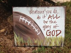 39 Trendy Ideas For Basket Ball Kids Room Canvases Football Rooms, Football Crafts, Football Signs, Sports Signs, Football Themes, Boy Room Paint, Sport Craft, Scripture Art, Bible Verses
