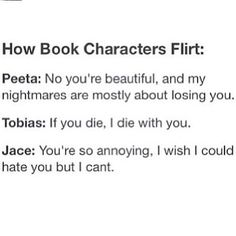 Thing is, i believe jace was the only one whose girl was in love from the moment she saw him