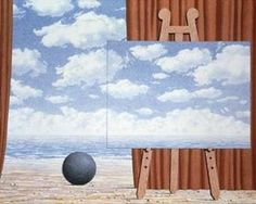 The fair captive - René Magritte