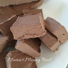 Low Carb Cream Cheese Fudge is one of my favorite low carb treats. You can have your sweets without guilt with this yummy fudge recipe.
