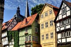 Collegiate Church, Castle and Old Town of Quedlinburg   Tourism in Germany – travel, breaks, holidays