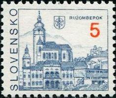 Stamp: Ružomberok (Slovakia) (Definitive Issues - Towns) Mi:SK 164,Sn:SK 154,Yt:SK 130,AFA:SK 145,POF:SK 3