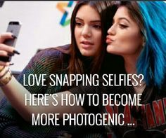 Love Snapping Selfies Heres How To Be More Photogenic  #Beauty #Trusper #Tip