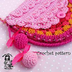 Crochet bag / purse pattern  DIY di VendulkaM su Etsy