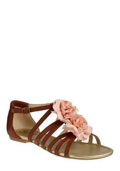 $94.99 Eyes of Mars sandals from ModCloth #shoes #thinkpink