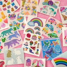 Something about stickers is just so nice 🌈 Rainbow Aesthetic, Pink Aesthetic, Got Anime, Mabel Pines, Everything Pink, Retro, Little Pony, Childhood Memories, Stationery
