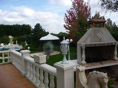 Parc d'une magnifique maison située à Boé...