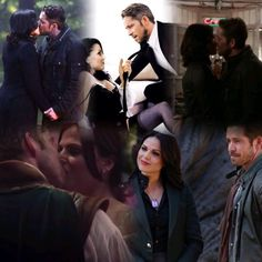 Awesome Regina and Robin (Lana and Sean) #Once S4 S5B awesome #OutlawQueen