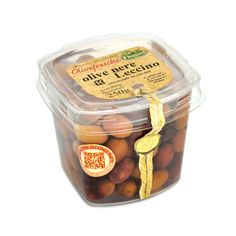 IT | OLIVE NERE LECCINO: l aternativa all oliva di gaeta, ideale sia per la preparazione di primi e secondi piatti, che servita come antipasto.  EN | WHOLE BLACK NATURAL LECCINO OLIVES: the best back-up olive to the gaeta, the taste can be rather different, but the harmony for cooking is just the same with a very enjoyable taste.  http://www.ficacci.com/scheda.asp?id=325&idgamma=33&categ=prodotti