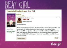 Very Emotional Review on #goodreads #beatgirl #fivestars #5stars #book #novel #emotional
