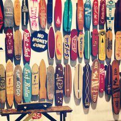 Skateboard history.
