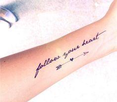 Cute Arrow Tattoo Ideas For Women - Best Tattoos For Women: Cute, Unique, and Meaningful Tattoo Ideas For Girls - Get Cool Female Tattoos with Pretty Designs Neue Tattoos, Body Art Tattoos, Girl Tattoos, Tattoos For Girls, Heart Tattoos, Butterfly Tattoos, Trendy Tattoos, Small Tattoos, White Tattoos