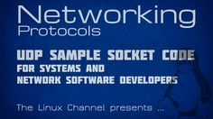 Networking Protocols - Episode9 - UDP sample socket code for Systems and...