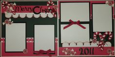 Alitahebert's Gallery: X-Mas Christmas Scrapbook Layouts, Scrapbooking Ideas, Paper Piecing, Candy Cane, Merry Christmas, Holiday Decor, Frame, Album, Gallery
