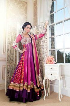 Fancy Umbrella frock designs Churidar Suits 2015-16 for Women | GalStyles.com