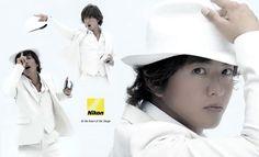 Kimura Takuya for Nikon