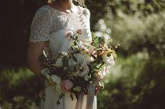 Fine art wedding inspiration - English garden romance. Photography by Rebecca Goddard, floral styling by Jo Flowers.