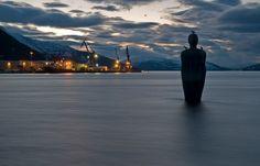 The Havmann statue. Mo i Rana.