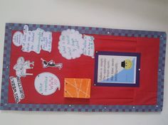 Technology Question of the week bulletin board:  Could be cute in the hallway for kids AND staff.