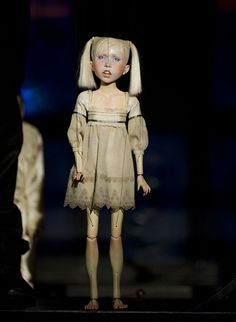 """Penny Plain""~Puppet by Ronnie Burkett, photo © Ian Jackson"