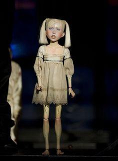 "The White Earth - ""Penny Plain""~Puppet by Ronnie Burkett, photo © Ian Jackson"