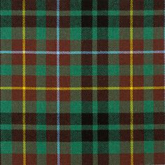 Buchanan Hunting Ancient Heavy Weight Tartan Fabric | Lochcarron of Scotland