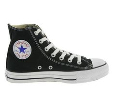 9b5e6fc1454518 Converse All Star Chuck Taylor Black Hi Canvas M9160 Men Converse All Star