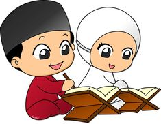 Images of muslim cute couple pic cartoon -