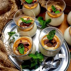 Indian Desserts, Indian Sweets, Sweet Meat Recipe, Falooda Recipe, Caramel Treats, Diy Ice Cream, Fusion Food, Food Categories, Food Presentation