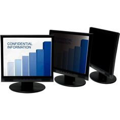 """3M PF18.1 Privacy Filter for Desktop LCD Monitor 18.1"""""""