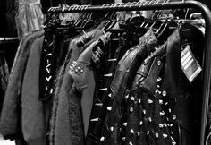 Black and White fashion rock