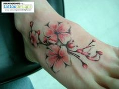 Apple Blossom flower tattoo - Google Search