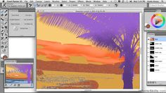 Corel Painter X3 Tutorial | Postcard Graphic