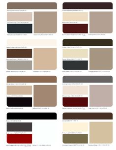 Sherwin Williams Paint Color Chart Desert Or Southwest Exterior Color Scheme From Sherwin