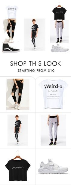 Hangin wit squad by ryannegirlz1218 on Polyvore featuring Pull&Bear, adidas, NIKE and Vans