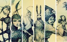 The Guardians of Childhood: Nightlight, Toothiana, Ombric, Bunnymund, North, and…