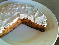 Gluten- and sugar-free carrot cake, by Supercharged Food