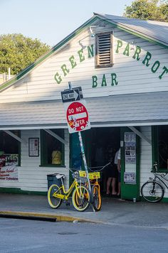 Green Parrot Bar Key West  loved this place - especially playing bar bingo!  Bring on the daubbers!!