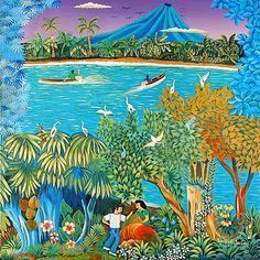 Image detail for -Indigo Arts Gallery   Nicaraguan Art   Fletes Cruz