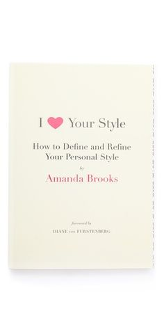 Books with Style I Love Your Style | SHOPBOP