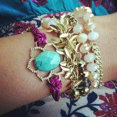 ooh La La! This jewelry combo is gorgeous. Find here: www.chloeandisabel.com/boutique/emilyryan