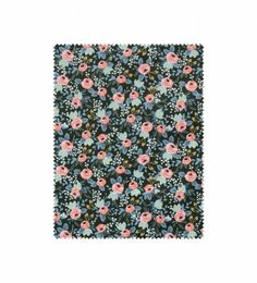 Our iconic Rosa pattern blooms against a hunter background. Cotton + Steel's 100% cotton fabric is ideal for creating garments, accessories, quilts, and other home décor items. Please note that because fabric is cut to order, it may not be returned or exchanged.