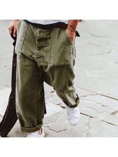 Looks Style, My Style, Loose Pants, Men's Pants, Baggy Trousers, Slacks, Look Man, La Mode Masculine, Inspiration Mode